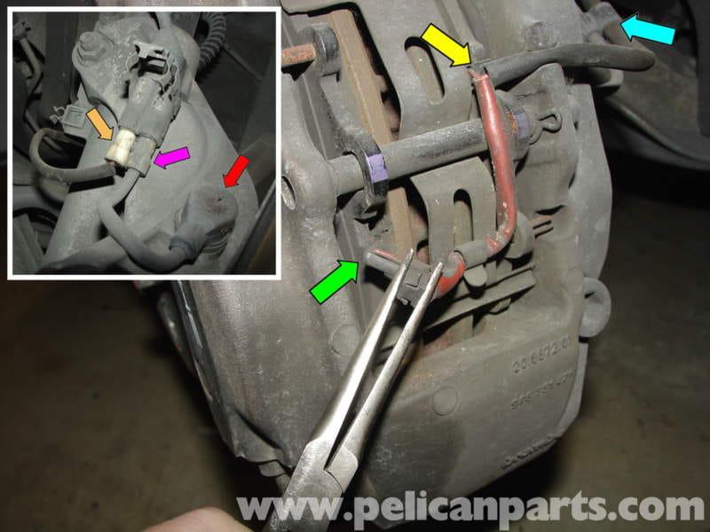 Porsche Boxster Brake Pad Replacement 986 987 1997 08