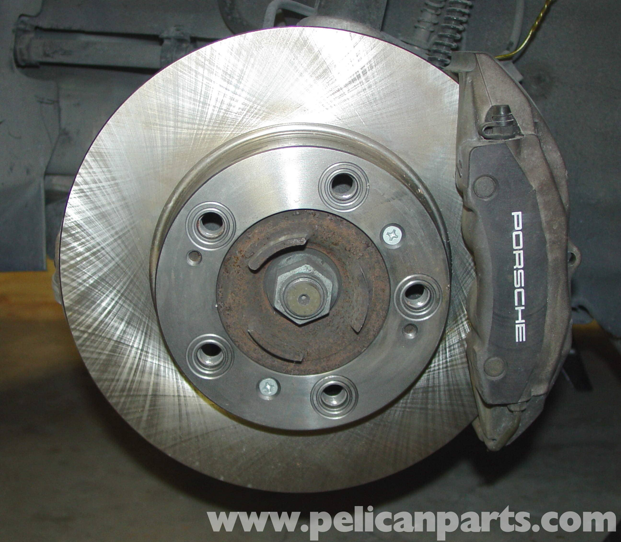 For Porsche Boxster Front Brake Job 2-Pieces Rotors Ceramic Pads Wear Sensors