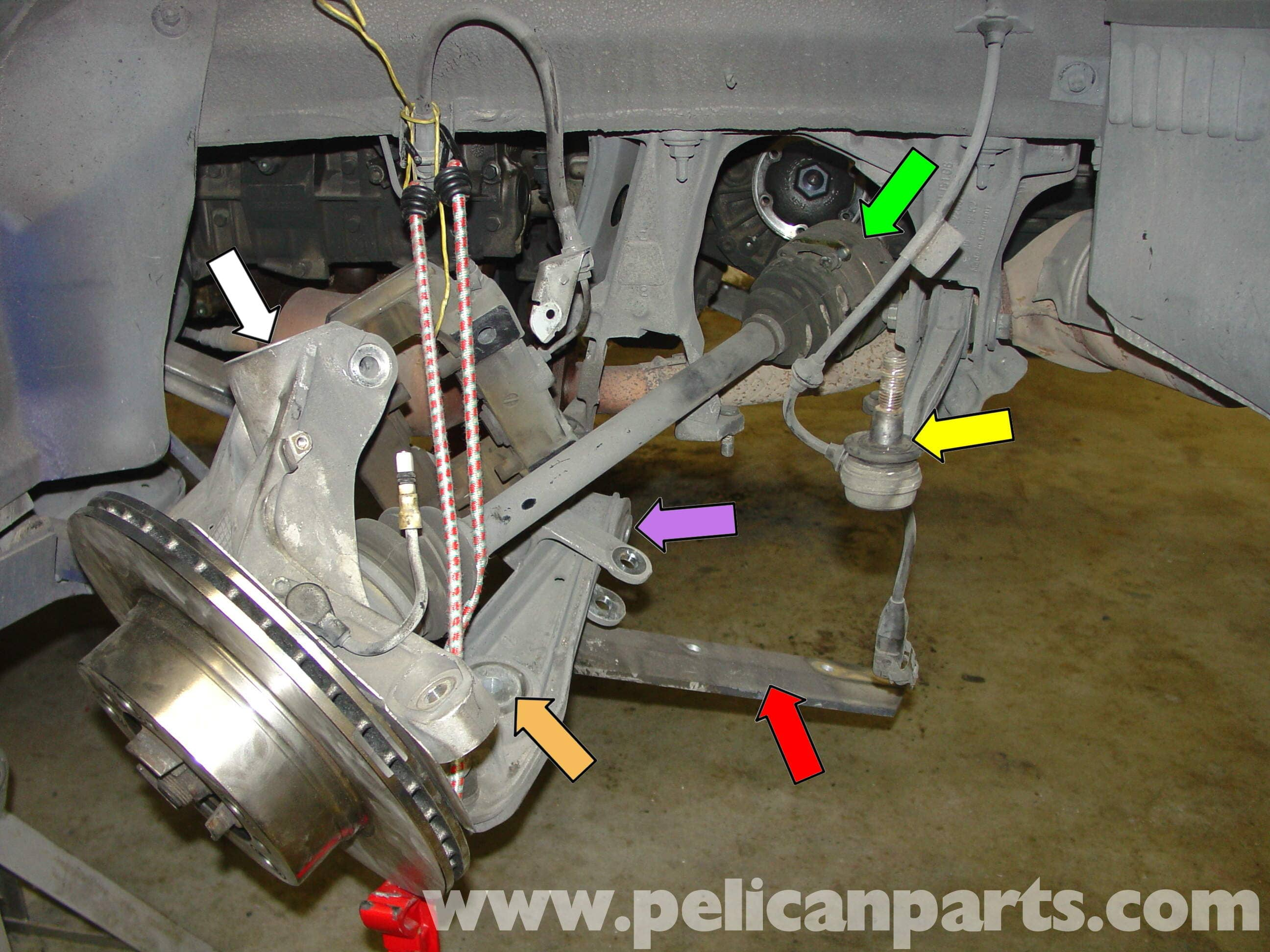 Porsche Boxster Shocks Amp Spring Replacement 986 987 1997 08 Pelican Parts Technical Article