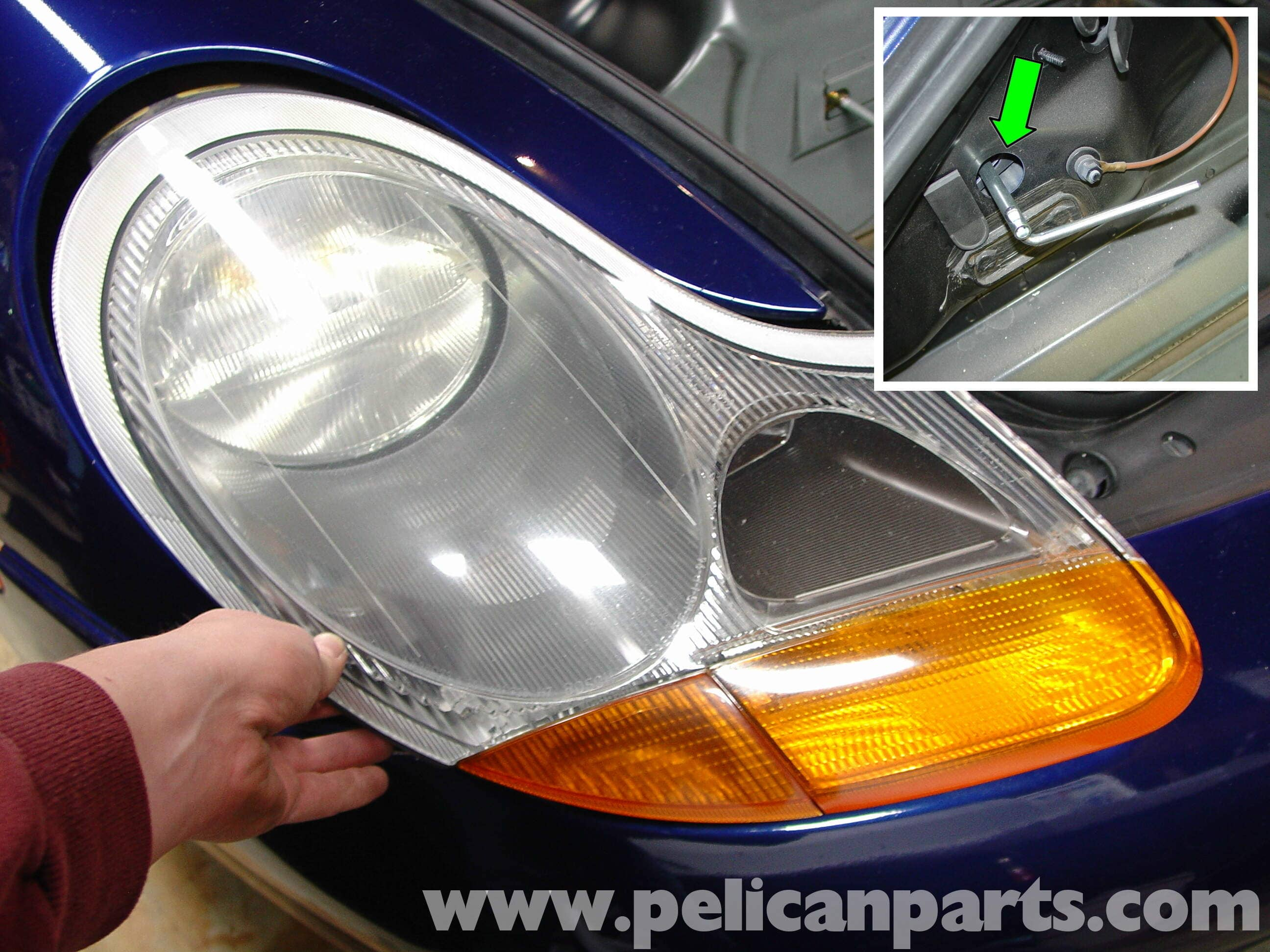 porsche boxster lenses and blub replacement adding boxster clear rh pelicanparts com