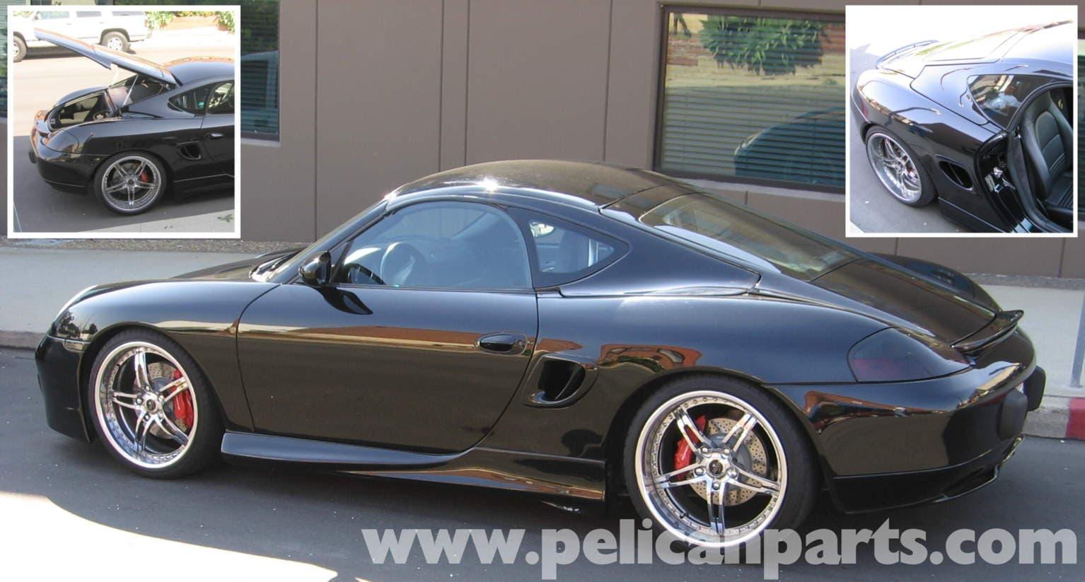 Porsche Boxster Hardtop Installation Kit 986 987 1997