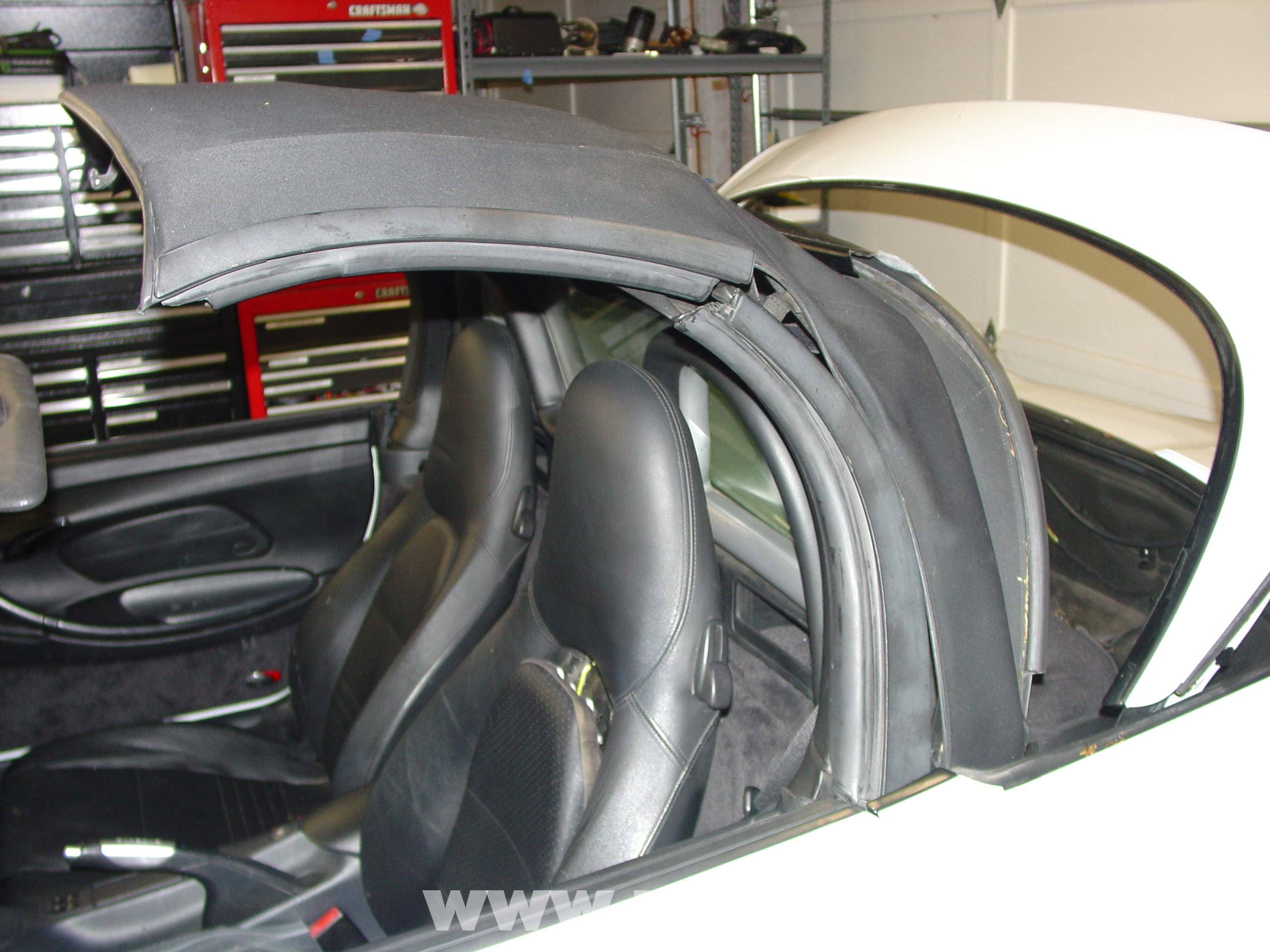 Porsche Boxster Glass Window Convertible Top Installation 986 356 Wiring Diagram Large Image Extra