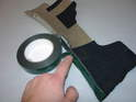 Apply new tape to the aluminum pieces (3M 06384 recommended).