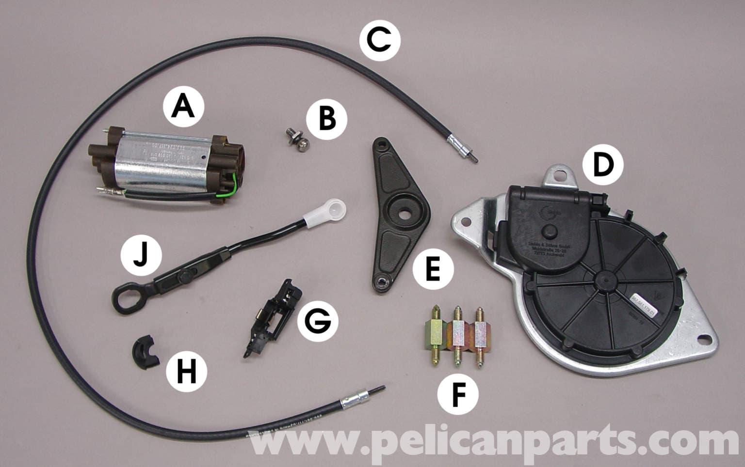 Porsche Boxster Convertible Top Repair 986 987 1997