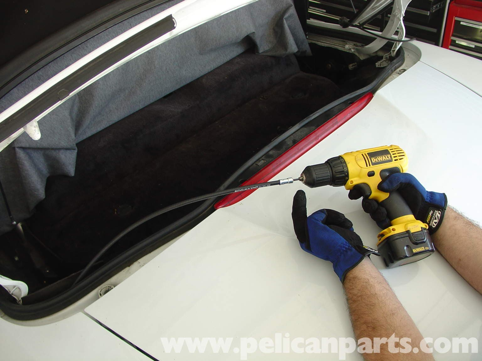 Porsche boxster convertible top repair 986 987 1997 for Convertible motor repair price