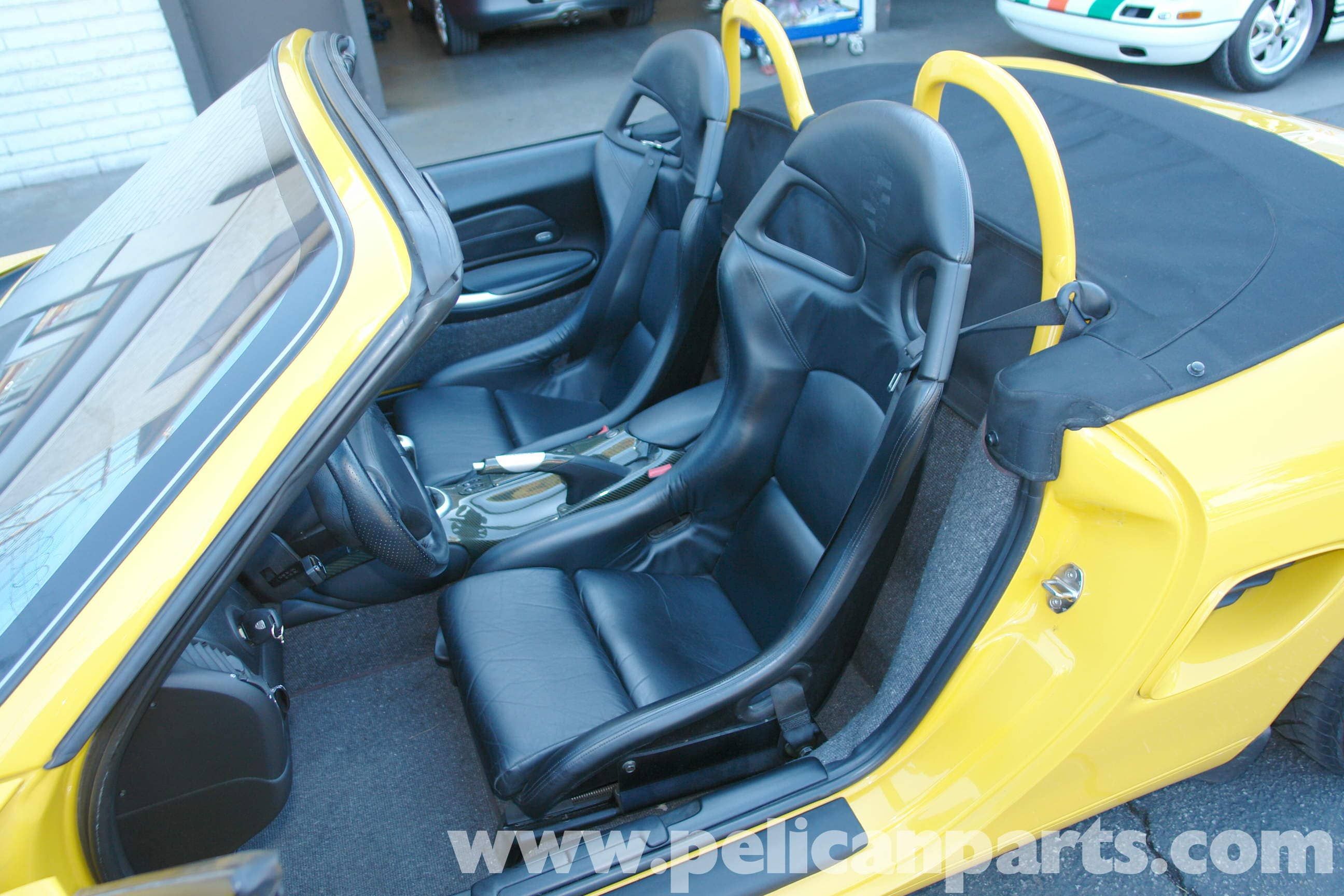 Porsche Boxster Sport Seat Installation And Removal 986 987 996 Wiring Diagram Large Image Extra