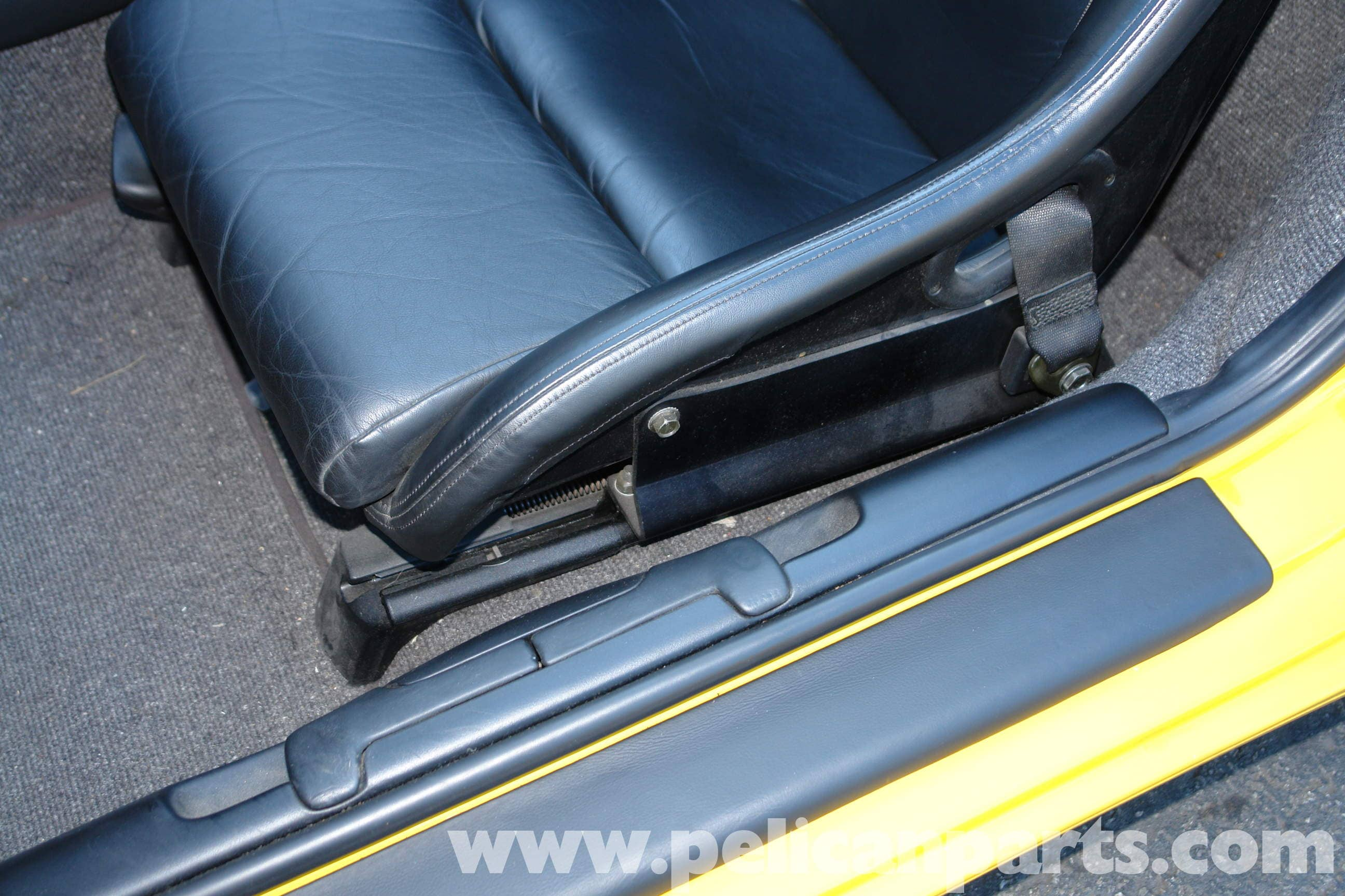 Porsche Boxster Sport Seat Installation And Seat Removal 986 987 1997 08 Pelican Parts