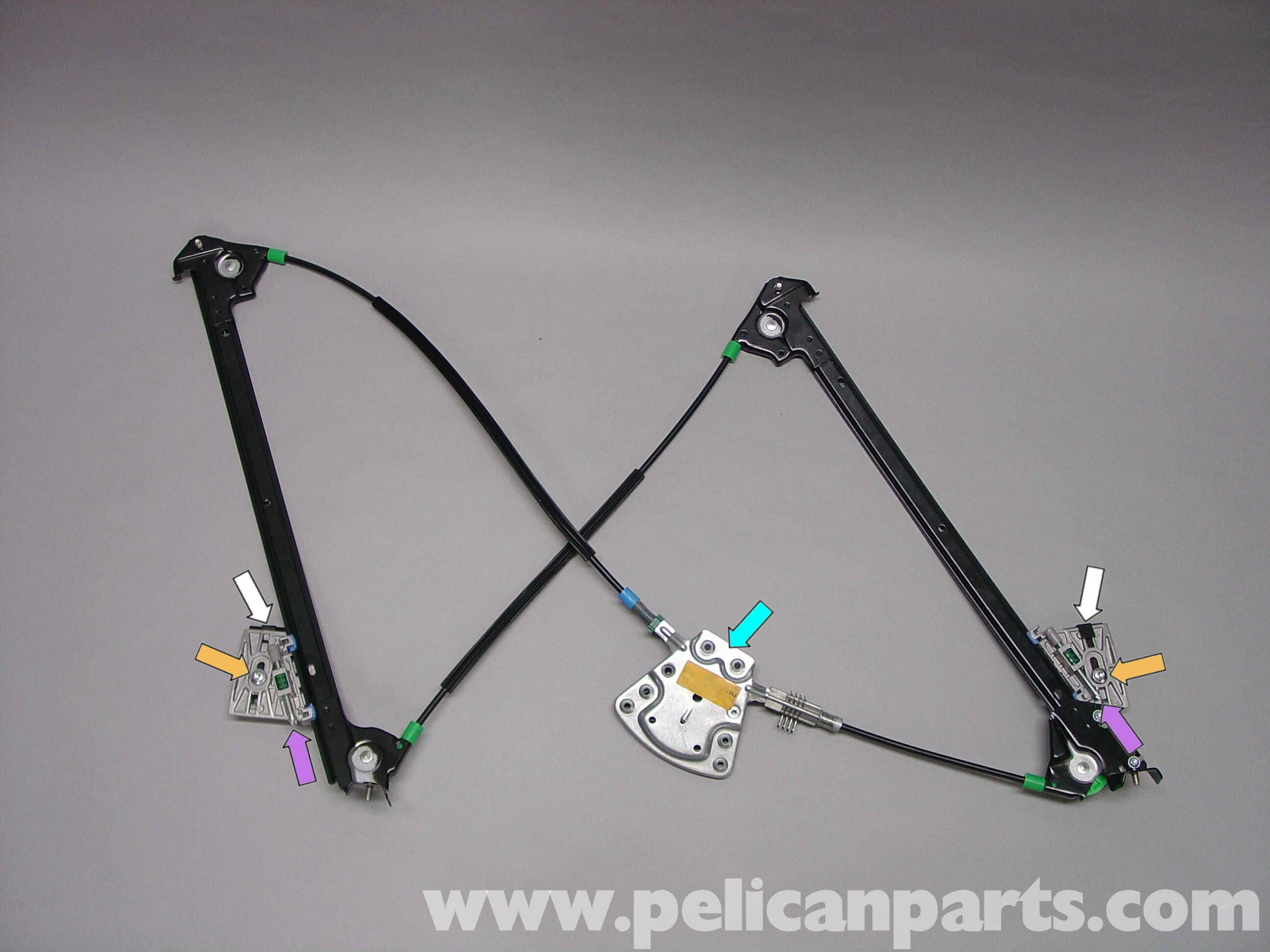 Porsche Boxster Window Regulator Replacement Switch Power Antenna Question Pelican Parts Technical Bbs Large Image