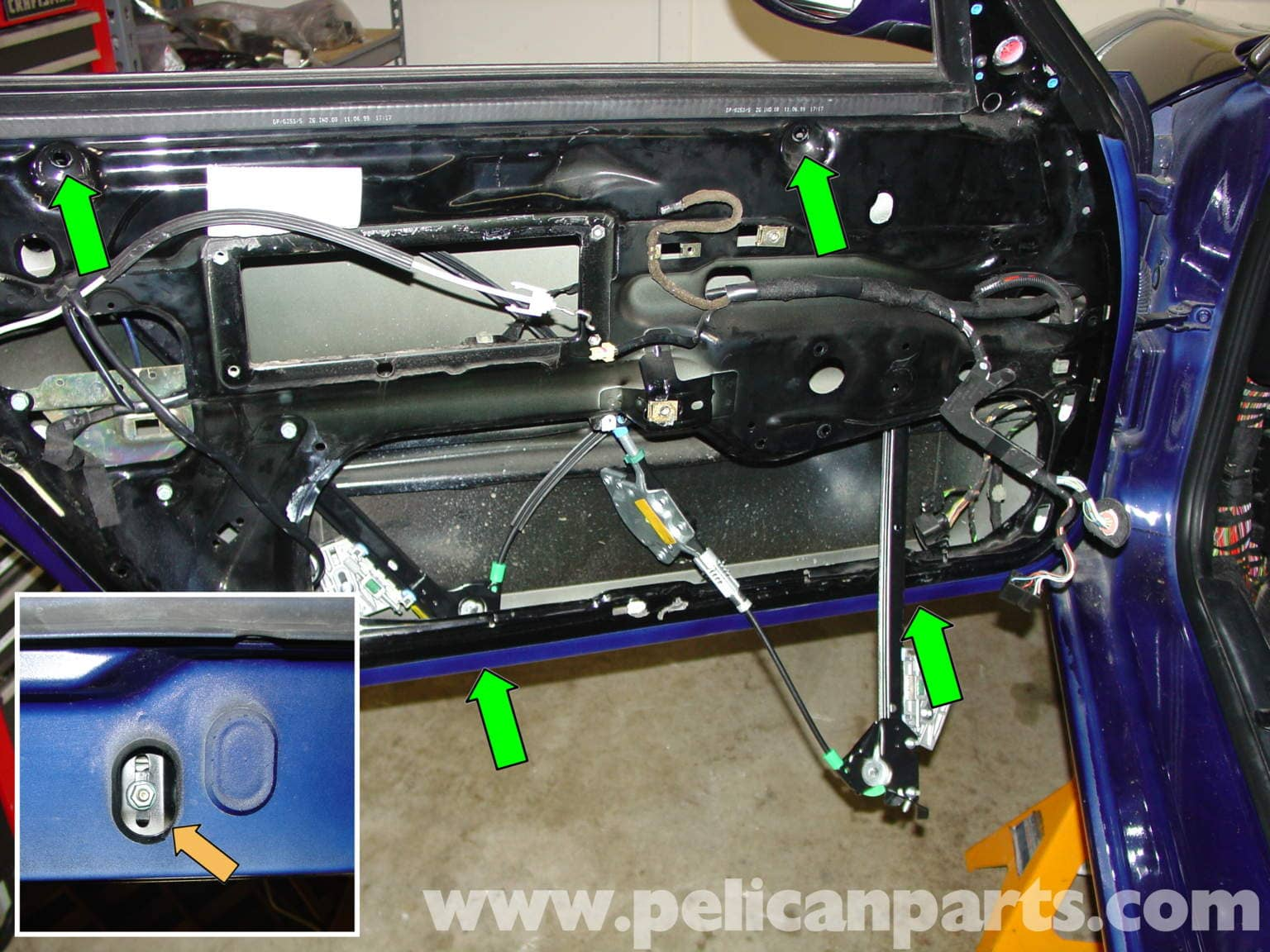 Porsche Boxster Window Regulator Replacement Window