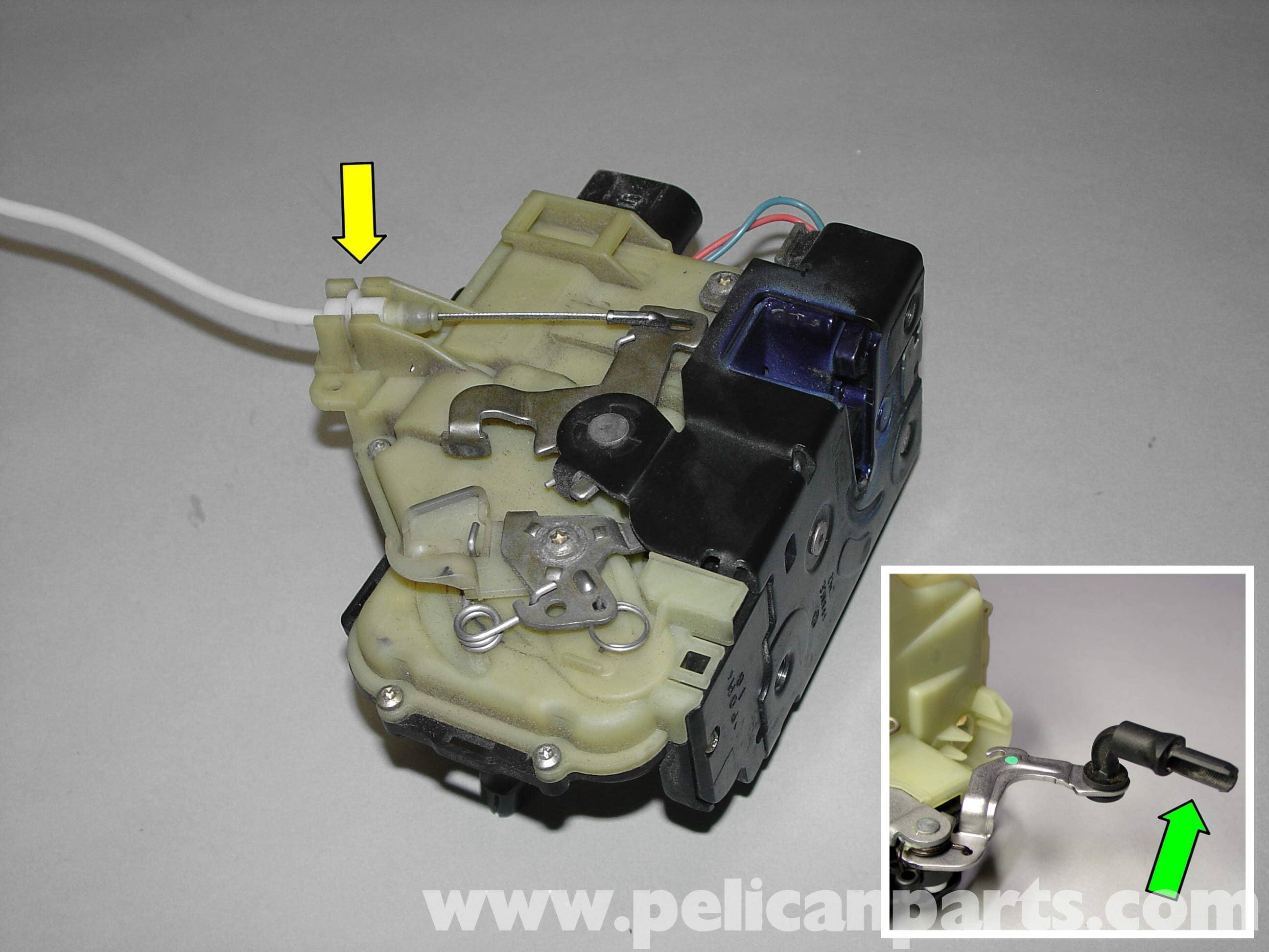 Porsche Boxster Door Lock Mechanism Door Handle 986