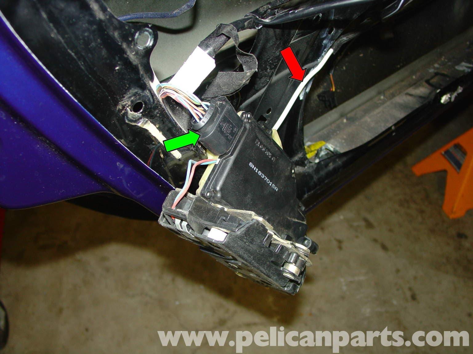 Porsche Boxster Door Lock Mechanism Door Handle 986