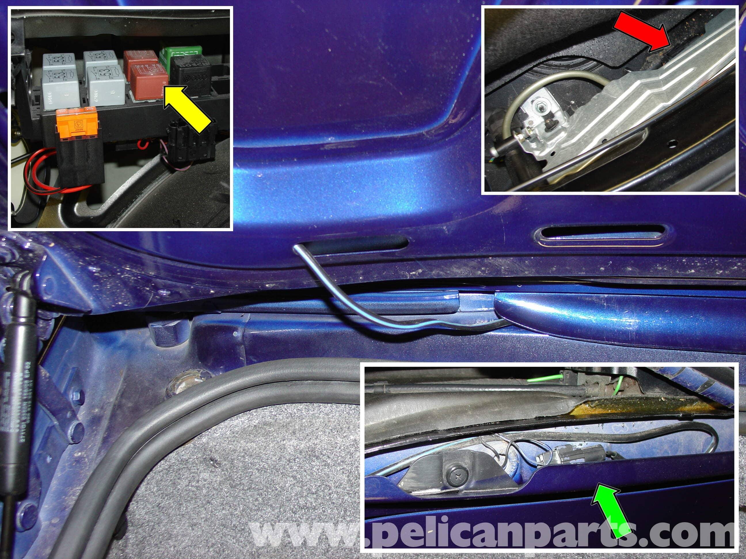 Porsche Boxster Rear Spoiler Installation 986 987 1997 08 Radio Wiring Large Image Extra