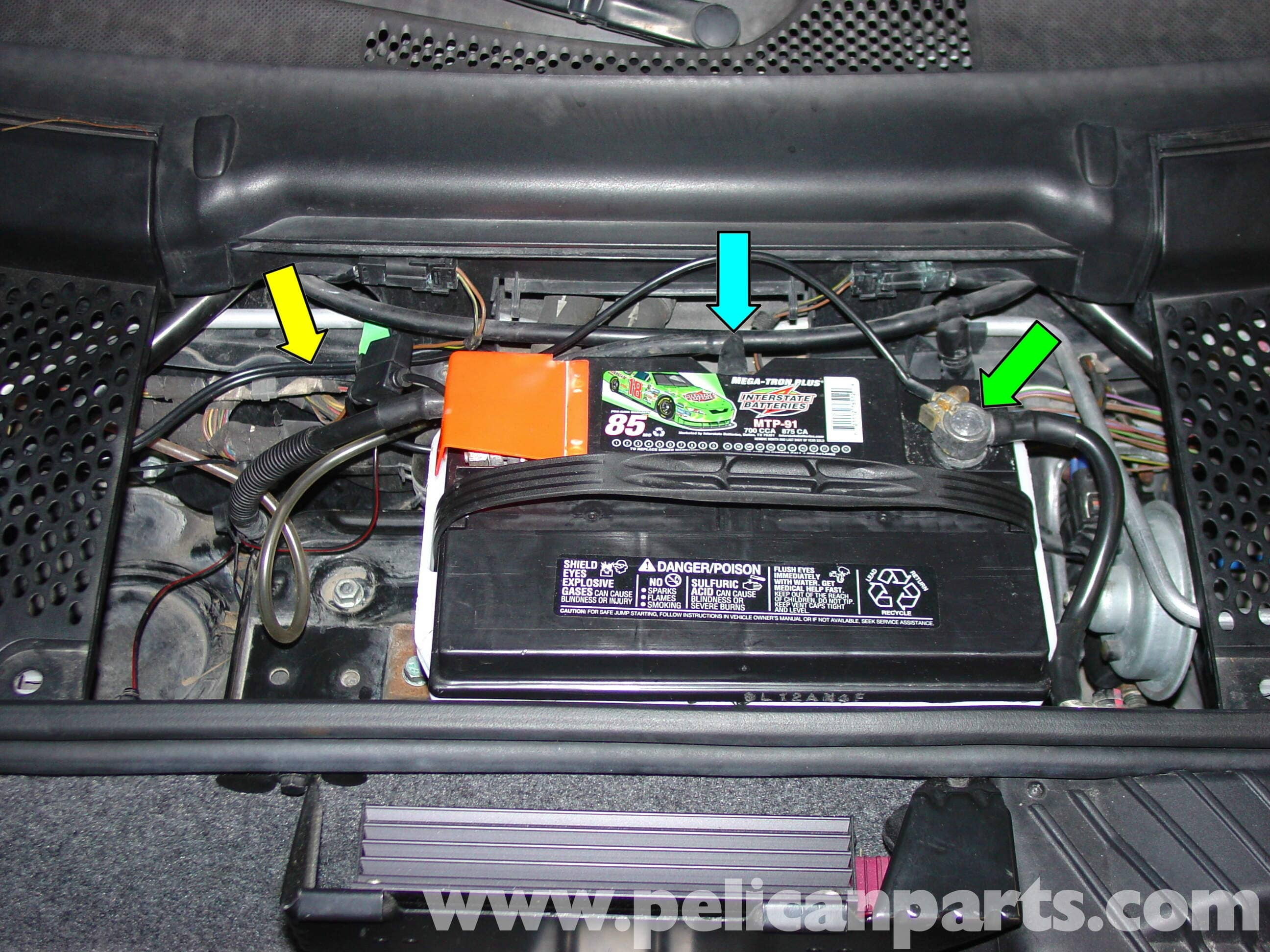 porsche boxster battery disconnect switch    battery buddy