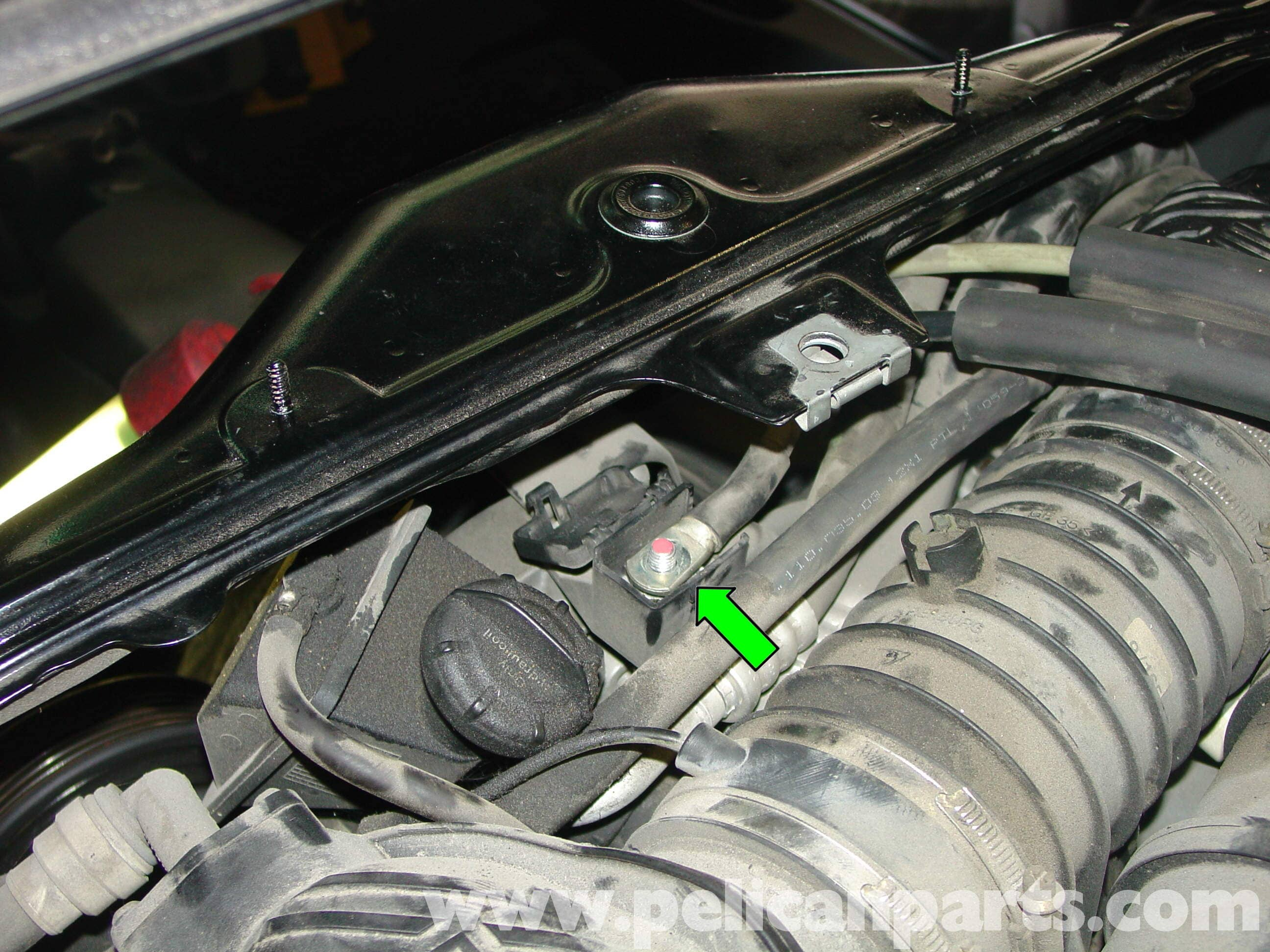 Porsche Boxster Alternator Replacement 986 987 1997 08 How To Disconnect Wiring Harness Large Image Extra
