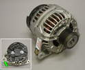 Shown here is a brand new rebuilt alternator.