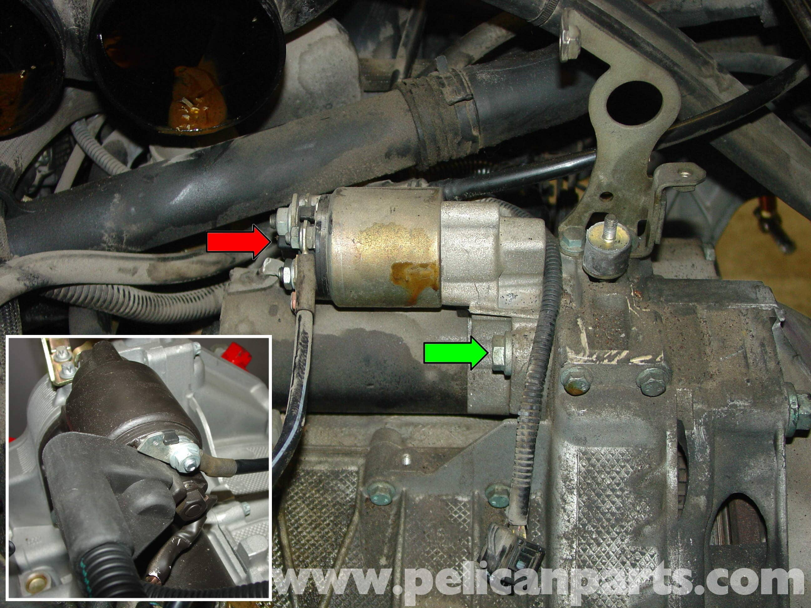 Porsche Boxster Starter Replacement - 986 / 987 (1997-08) - Pelican Parts  Technical ArticlePelican Parts