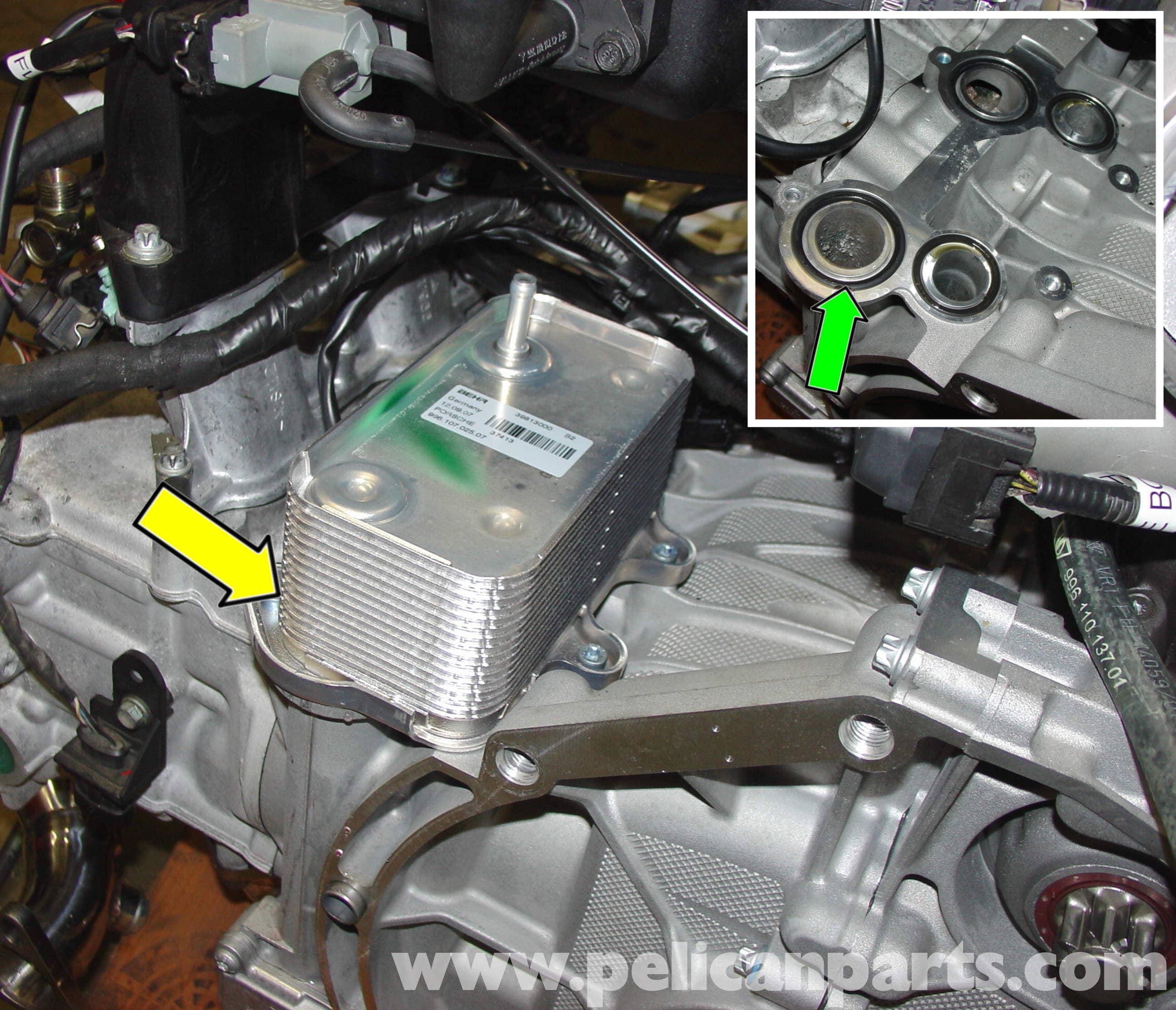 porsche boxster starter replacement 986 987 1997 08 pelican rh pelicanparts com Porsche Boxster S Engine Porsche Boxster Engine Compartment