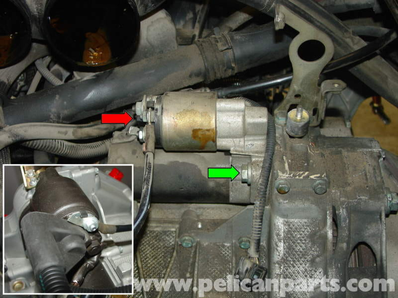 porsche boxster starter replacement 986 987 1997 08 pelican rh pelicanparts com Carpet Installation Before and After Photos A Paver On Grade Installation