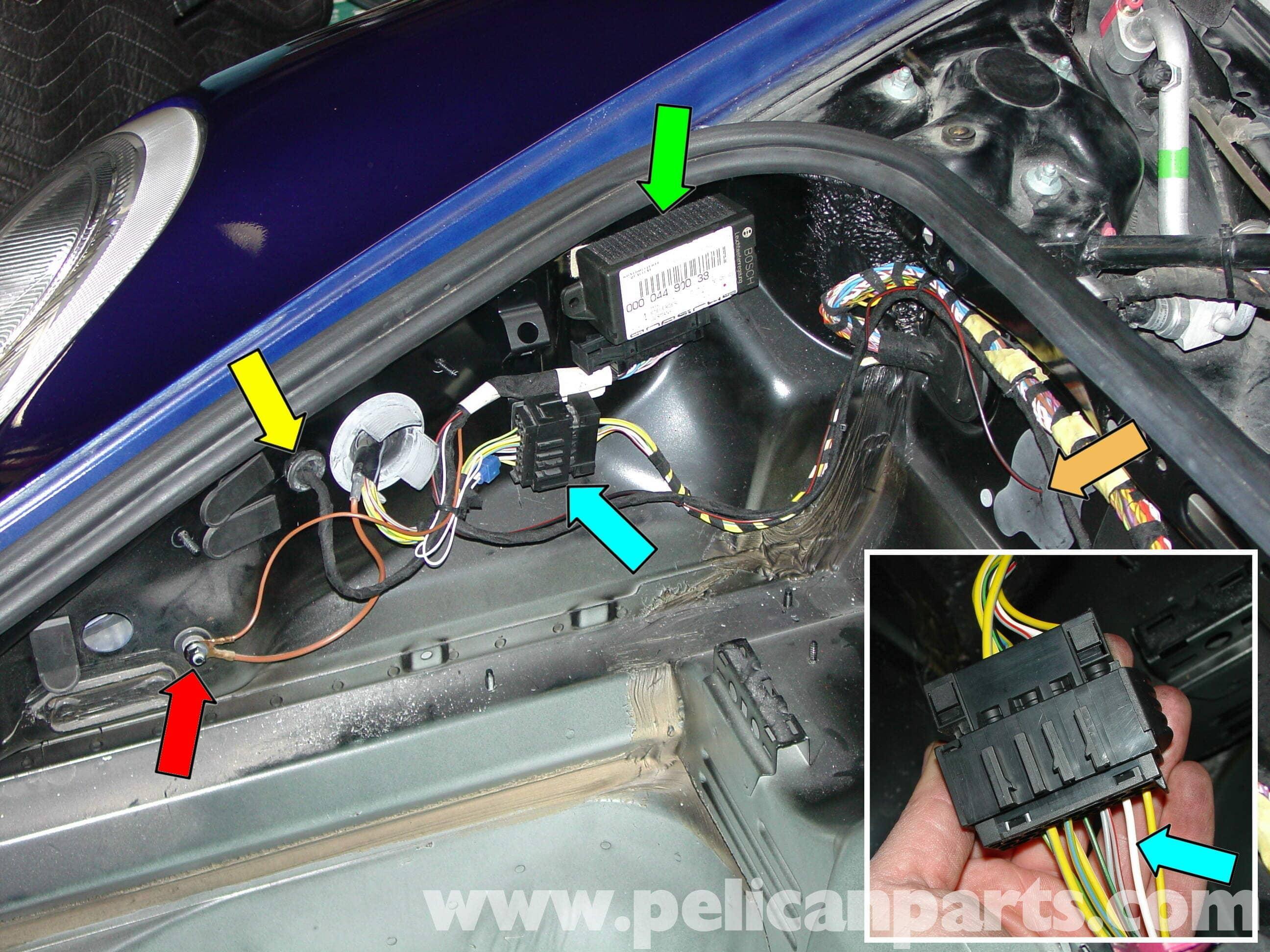 Porsche Boxster Litronic Headlamp Kit Upgrade 986 987