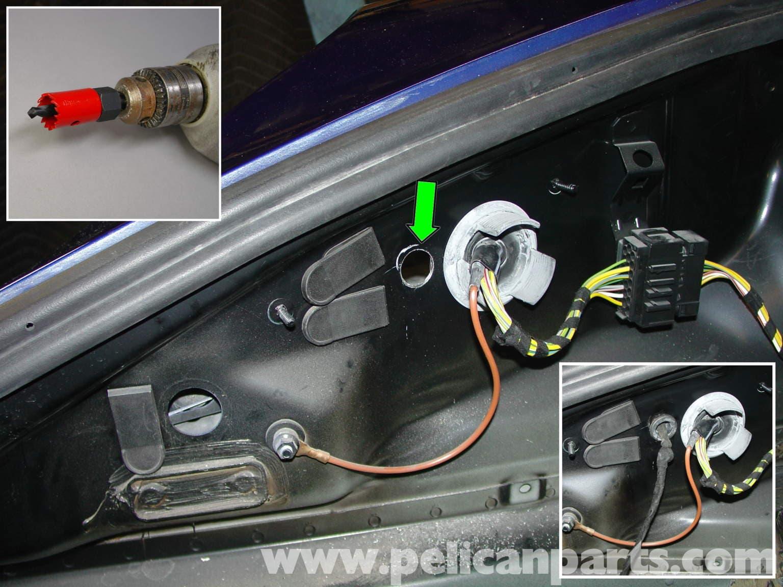 Porsche boxster litronic headlamp kit upgrade 986 987 for 1999 porsche boxster window regulator