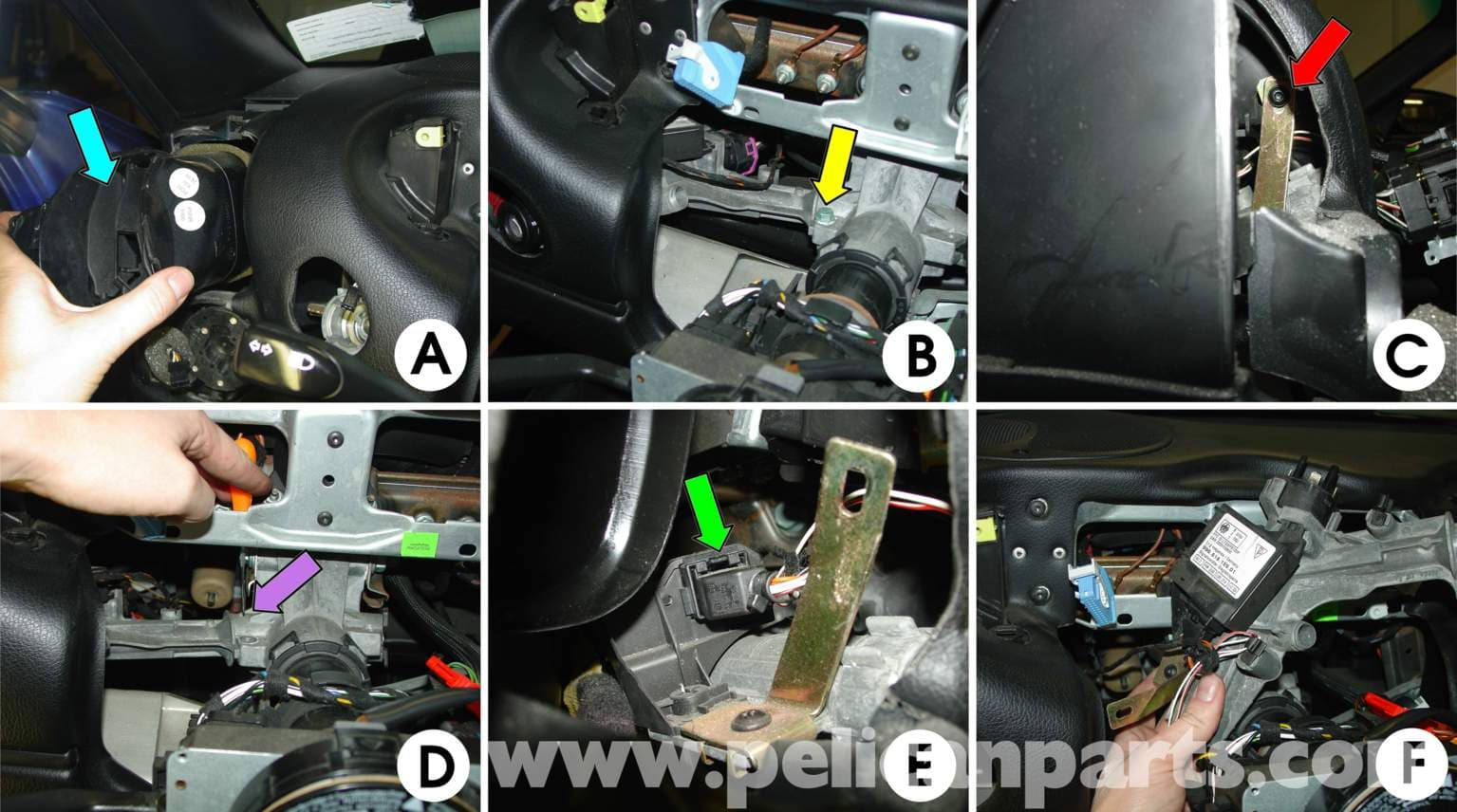 Pic3 porsche boxster ignition switch replacement 986 987 (1997 08  at bayanpartner.co