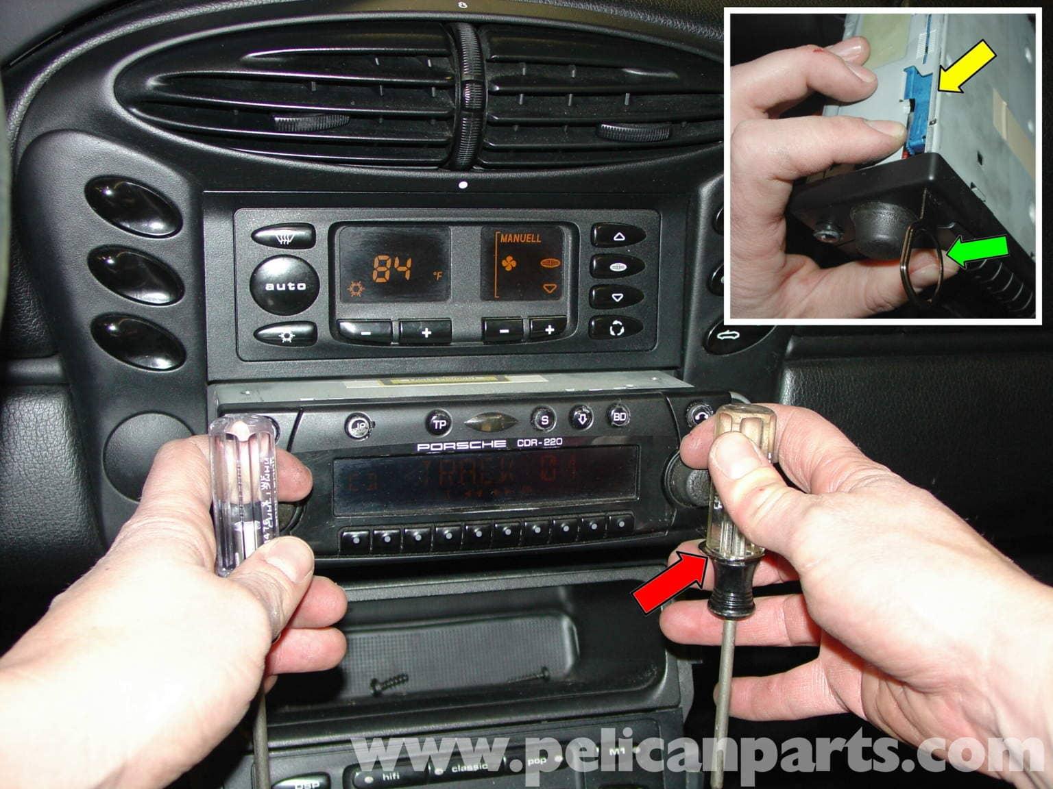 boxster rear speaker kit