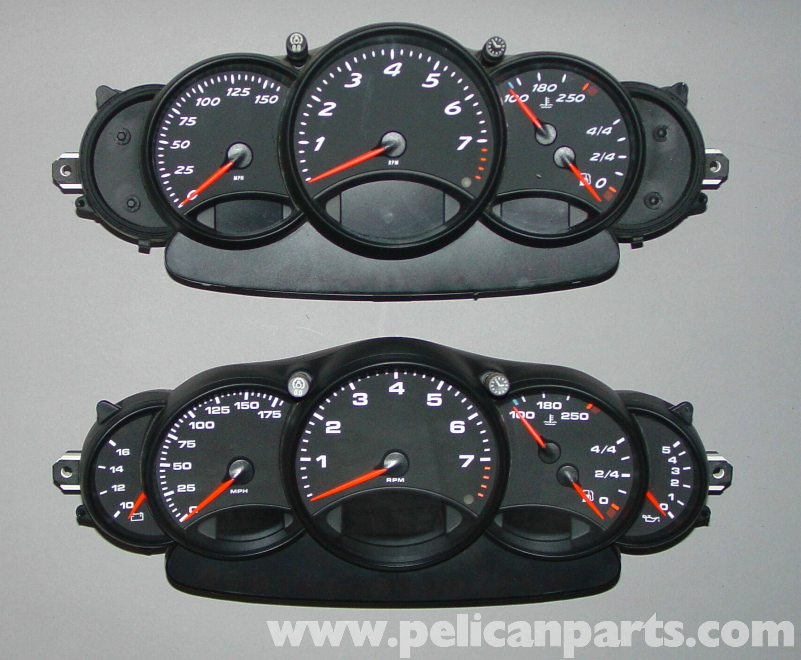Pic1 porsche boxster 996 gauge cluster upgrade 986 987 (1997 08 Chevy Wiring Harness Diagram at gsmportal.co