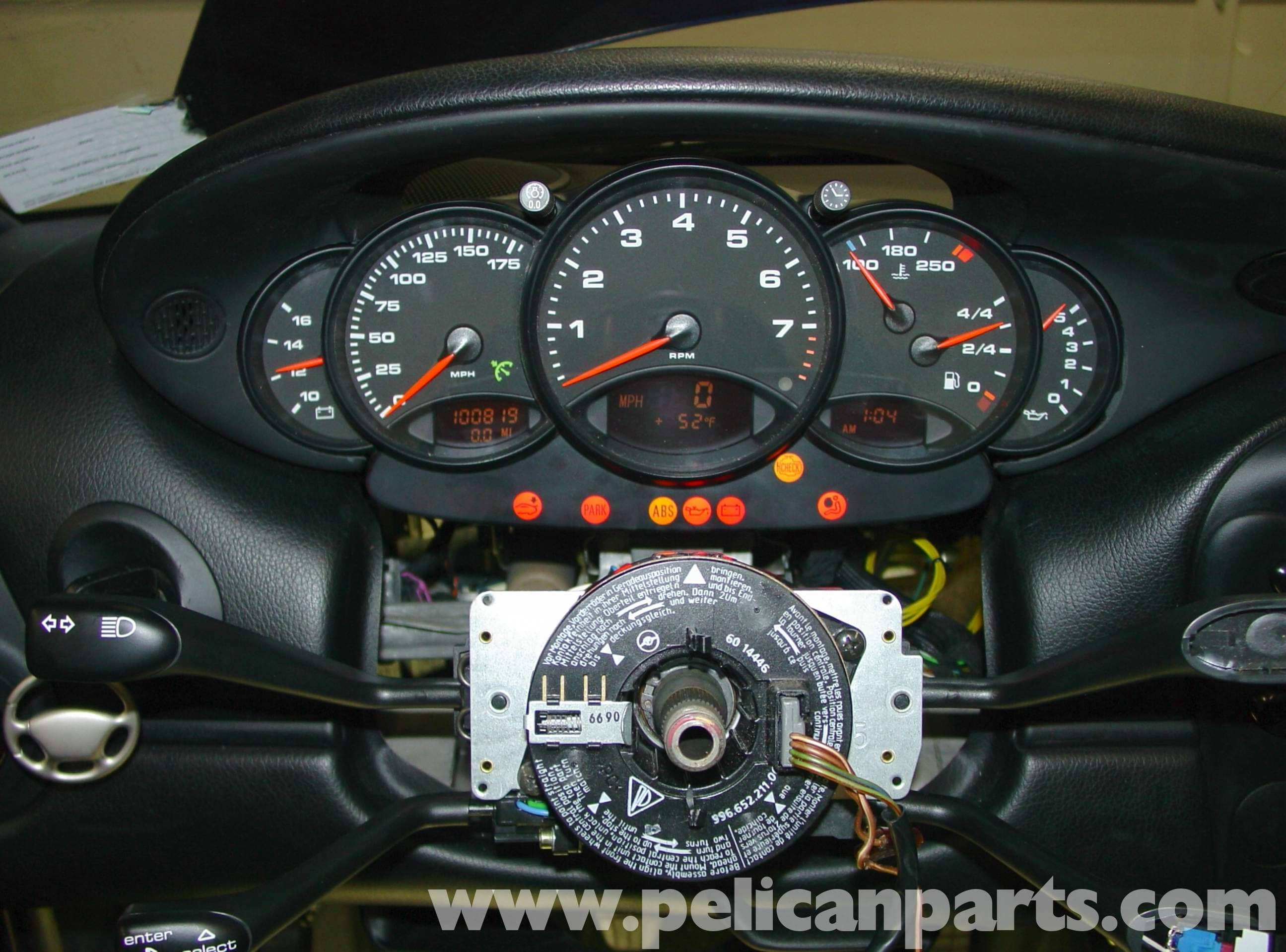 Pic5 porsche boxster 996 gauge cluster upgrade 986 987 (1997 08 Chevy Wiring Harness Diagram at gsmportal.co