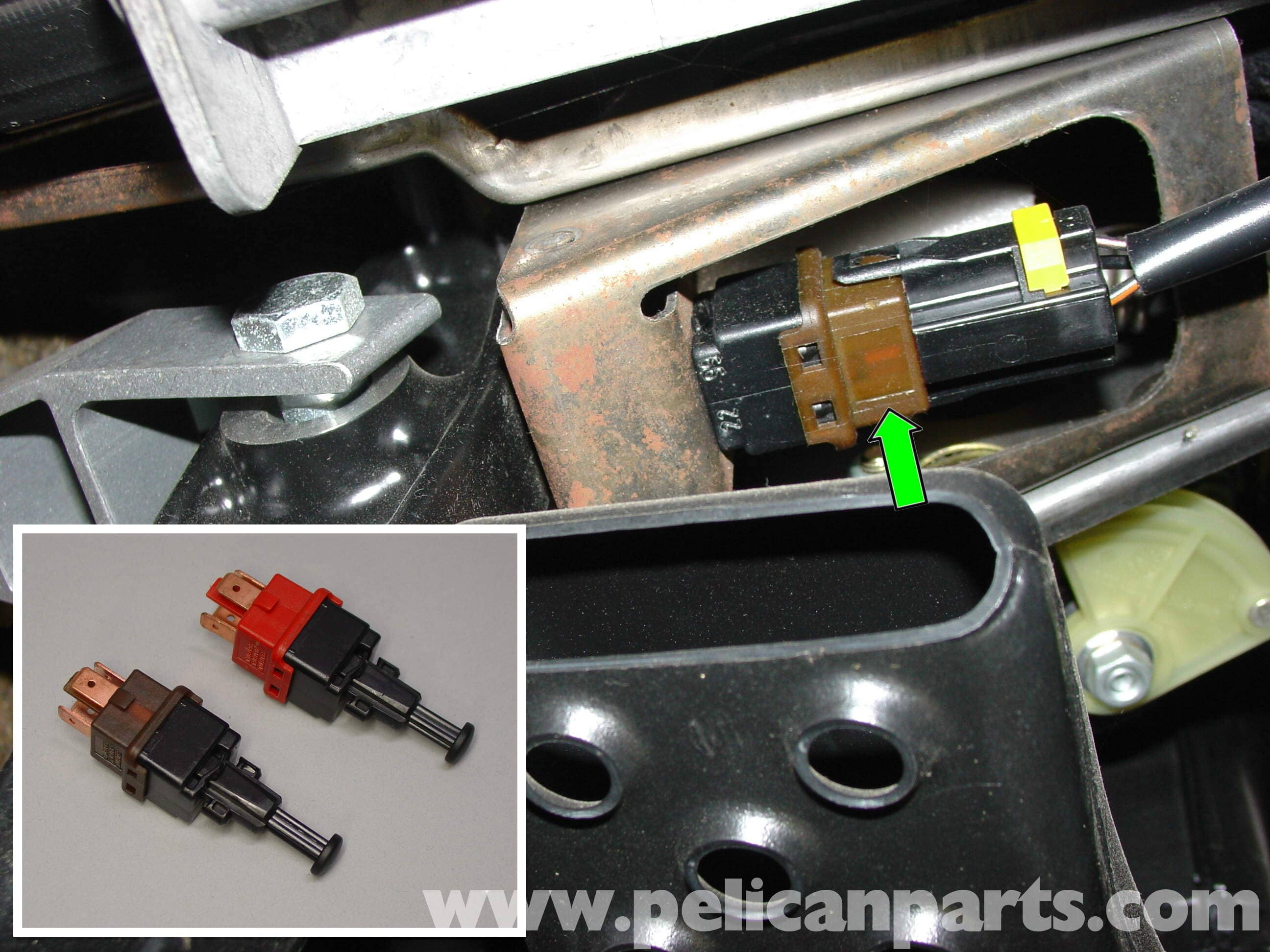 Porsche Boxster Brake Pedal Switch Replacement Clutch