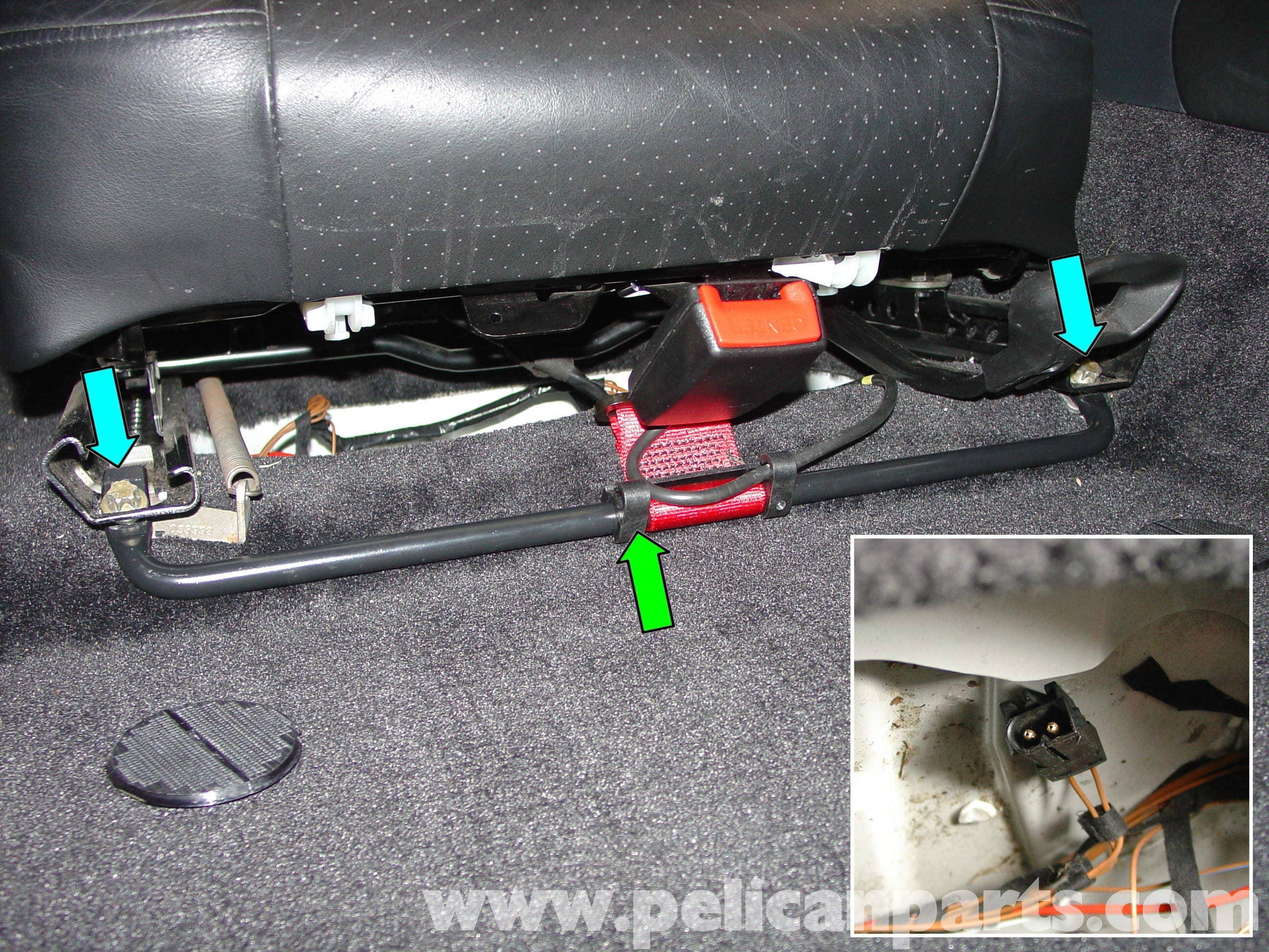 Porsche Boxster Child Seat Installation 986 987 1997