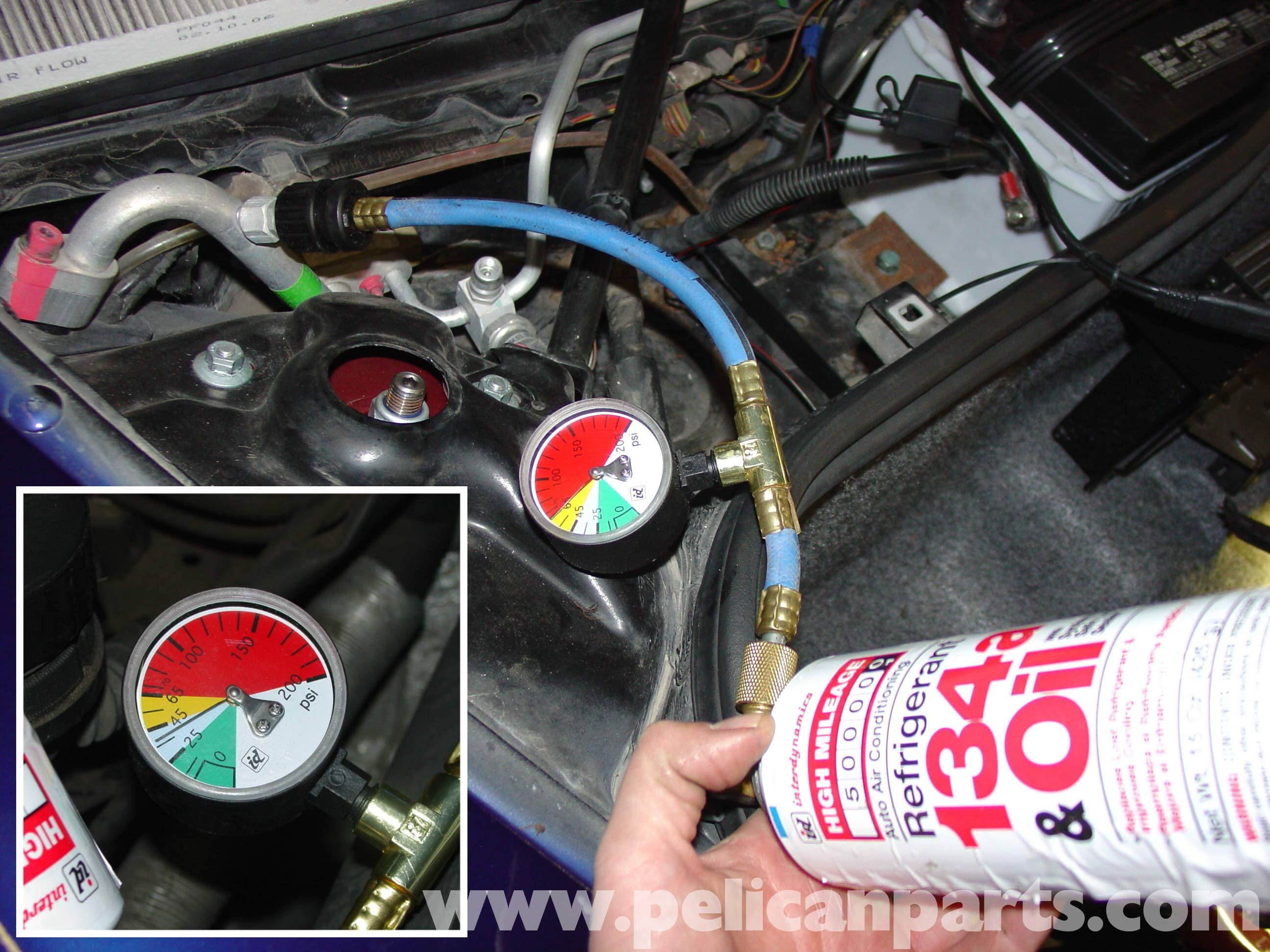 Porsche Boxster Air Conditioning Recharge 986 987 1997 08 Volvo 850 Ac Compressor Large Image Extra