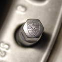 One of the smallest detail touches you can place on your car are Porsche crest valve stem caps for your wheels.