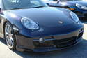 The Porsche Cayman was introduced with an entirely new looking front bumper.