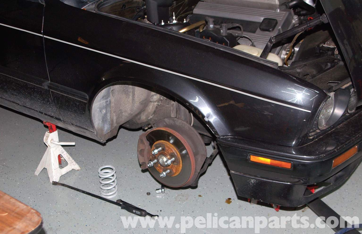 BMW E30 3-Series Brake Modifications | Pelican Parts Guest Technical ...