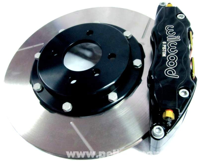 With a huge pad selection, light calipers, two-piece rotors, and race proven reliability, you will not be disappointed in the performance of any of these kits