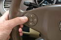 If you do not see the mileage indicated use the display scroll button on the left side of the steering wheel to scroll through the readouts until you come to the mileage.