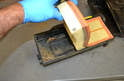 Remove the old filters and be sure to clean out the air boxes.