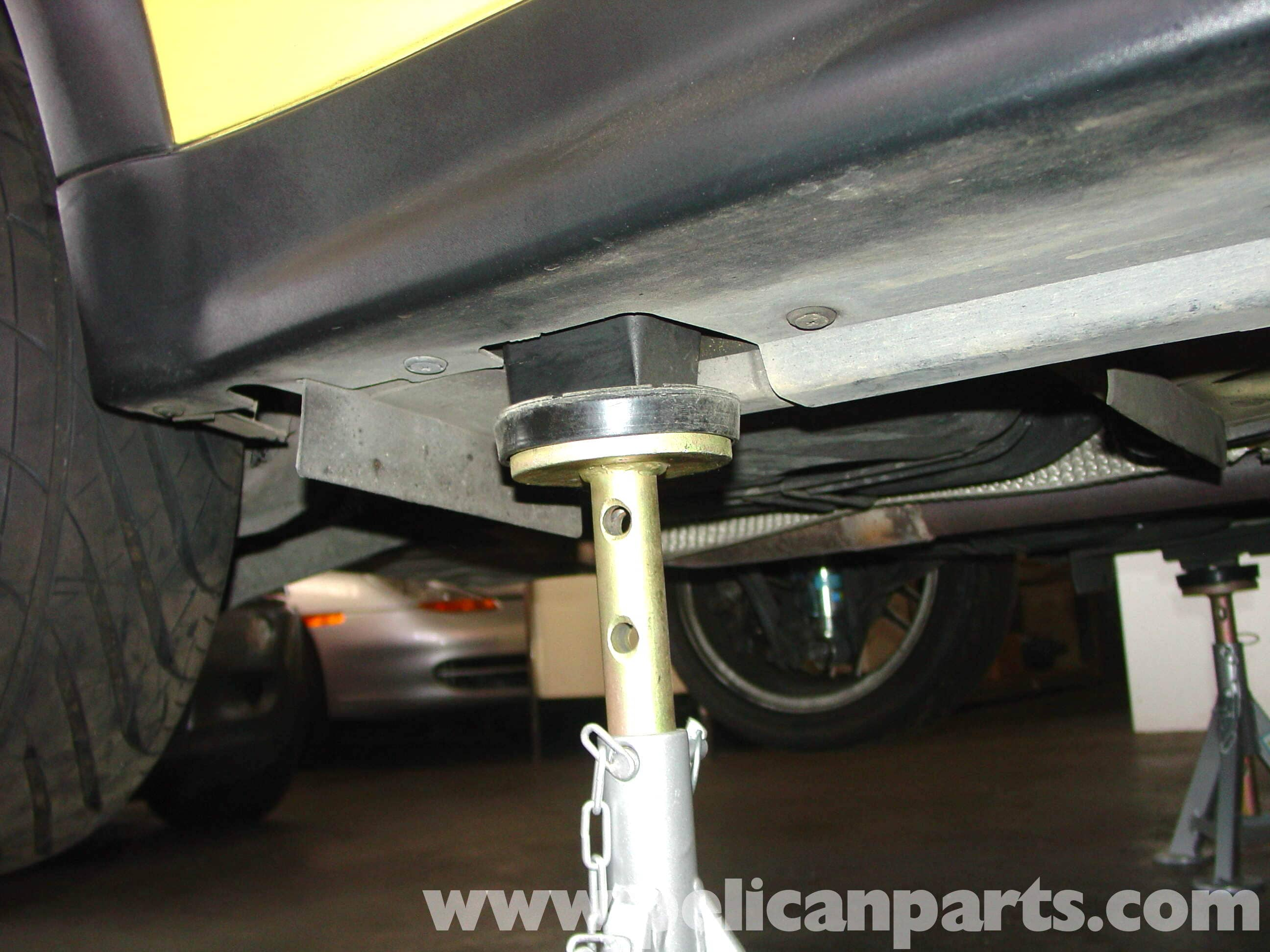 MINI Cooper Jacking Up Your Vehicle (R50/R52/R53 2001-2006 ...