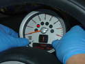 For those of you with the R55/R56R57 MINI, follow the directions to reset the Condition Based Service lights on the tachometer.
