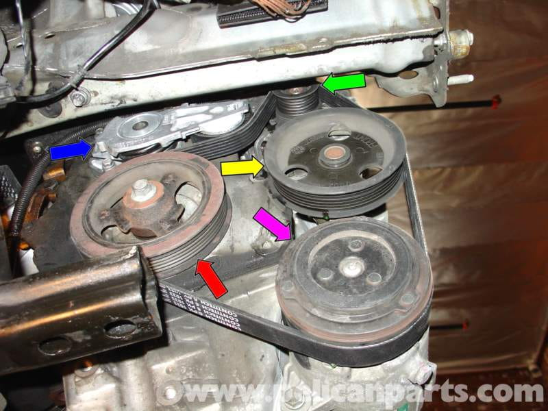 Pic14 mini cooper serpentine belt replacement (r50 r52 r53 2001 2006 mini cooper 2004 ac wiring diagram at gsmportal.co