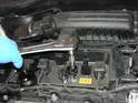 (Mk2 Cooper) Use the special 12 point spark plug socket with long extension to remove plug from head.