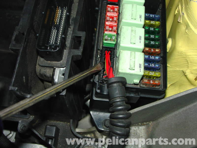 mini cooper engine and transmission mount replacement r50 r52 r53 rh pelicanparts com 2010 Mini Cooper Fuse Diagram 2003 mini cooper engine fuse box