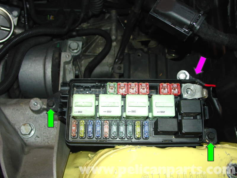mini cooper engine and transmission mount replacement (r50 r52 r53 1967 Firebird Fuse Box mini cooper engine compartment fuse box