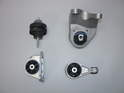 Shown here are a set of engine and transmission mounts for the early MINI Cooper S.