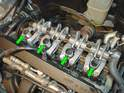 Now remove the valve cover from the cylinder head.