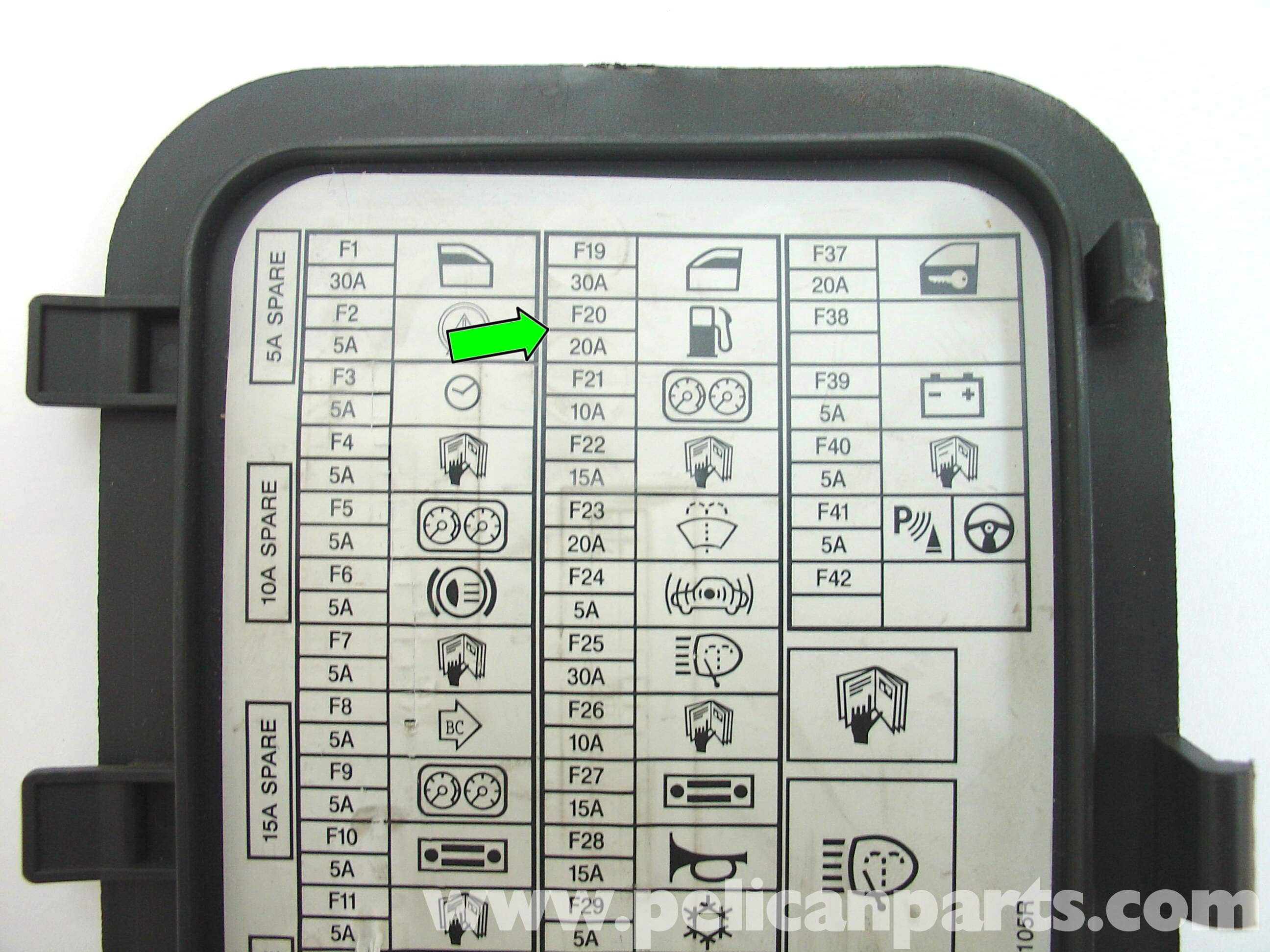 Fuse Box On Honda Fit 2011 Data Schema 2012 Odyssey Diagram Mini Cooper Fuel Pump And Filter Replacement R50 R52 R53 2000 Locations 2009