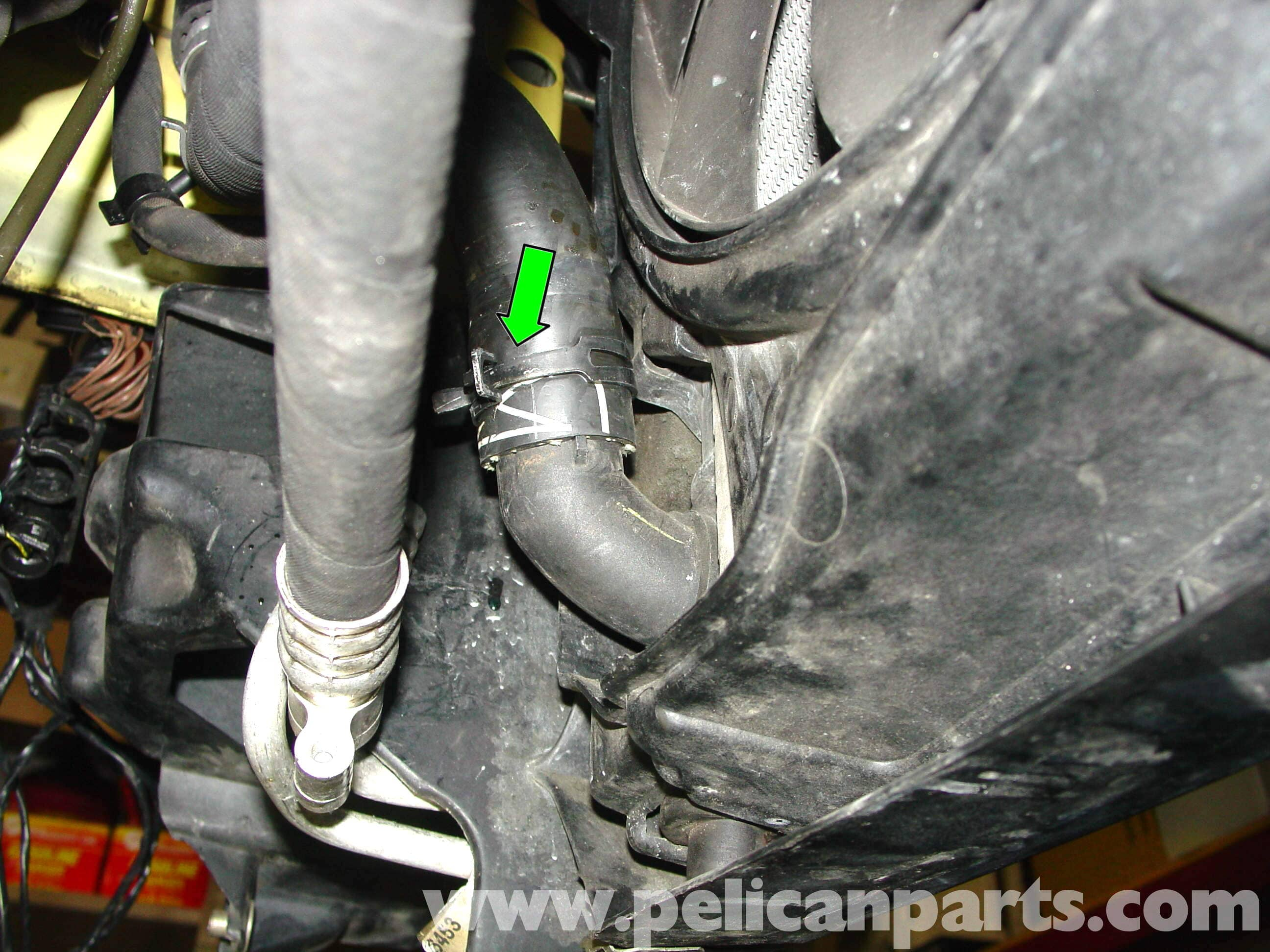 Mini Cooper Radiator Thermostat And Hose Replacement R50 R52 R53 Infiniti Heater Diagram Large Image Extra