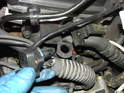 Pull the MAP sensor up and out of the vacuum line underneath.