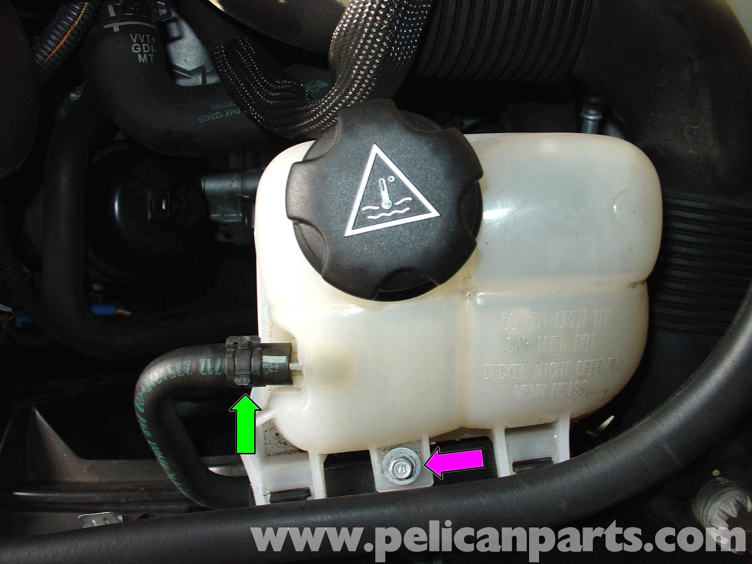 MINI Cooper Coolant Expansion Tank Replacement R50 R52