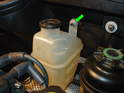 (R50 Cooper): The R50 Cooper uses a different kind of coolant tank then the R53 models.